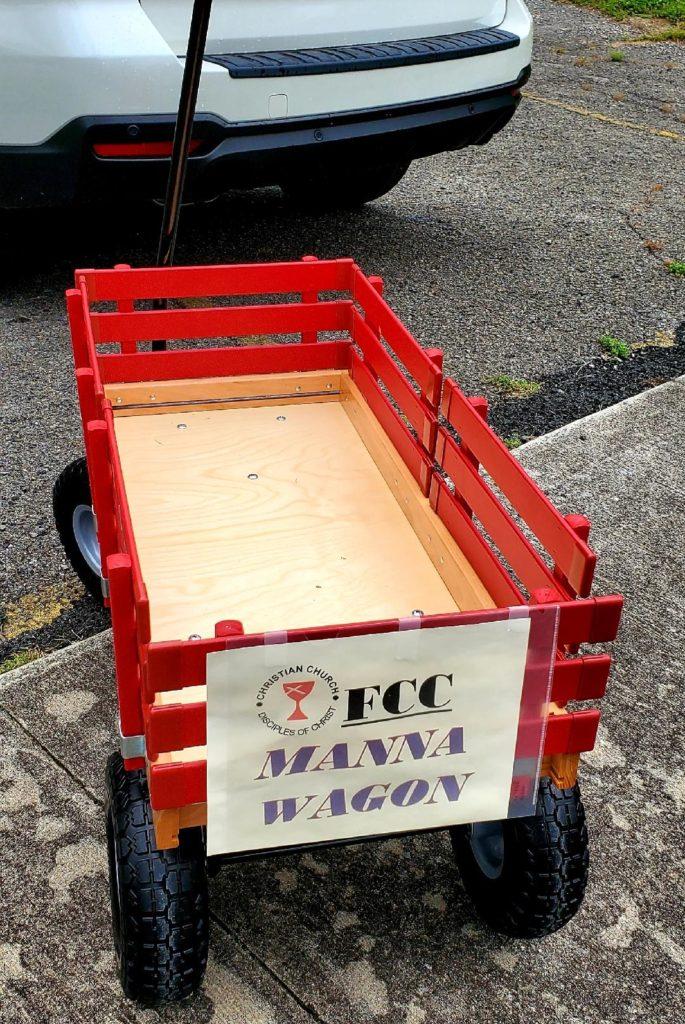2020-5-28, Manna wagon empty