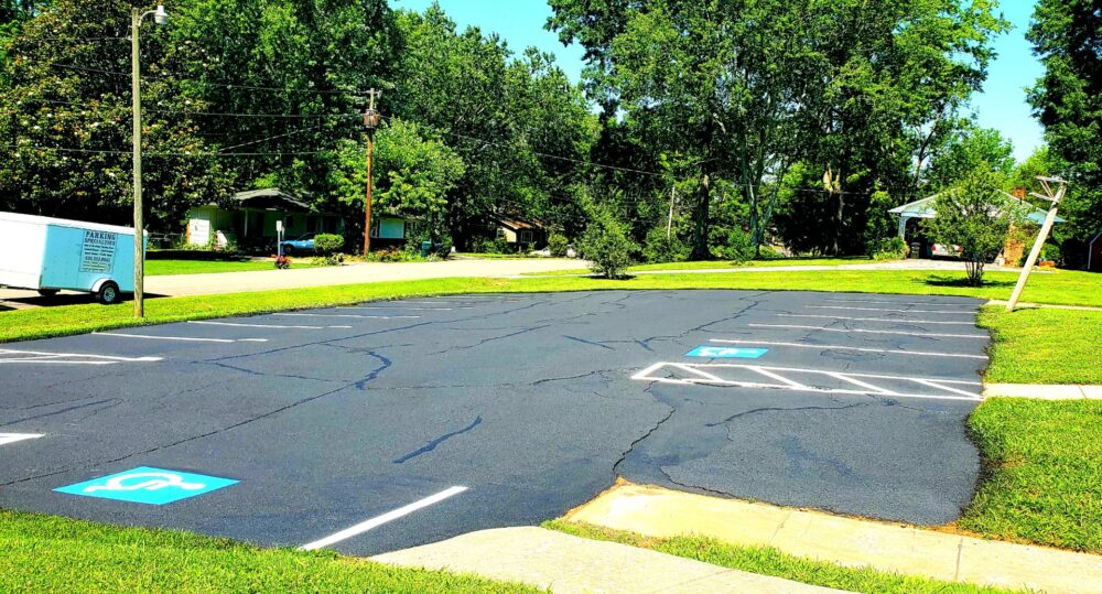 Fellowship Hall Parking Lot